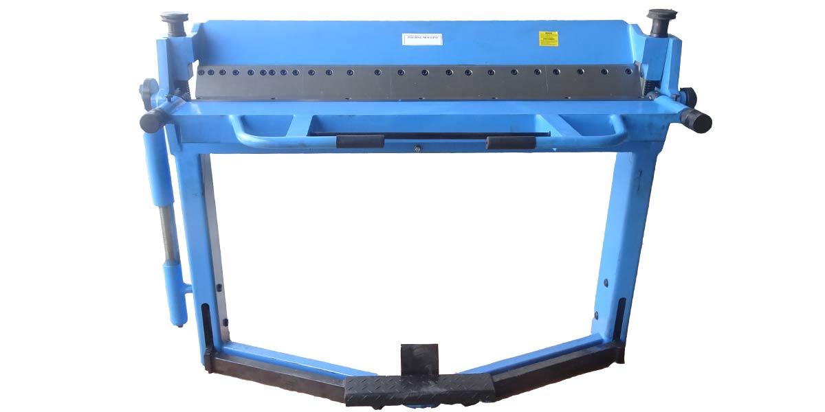 เครื่องพับ แบบใช้เท้า เครื่องพับโลหะแผ่น เครื่องพับแมนนวล Folding Brake Manual Machine model 2062,1220x2mm.