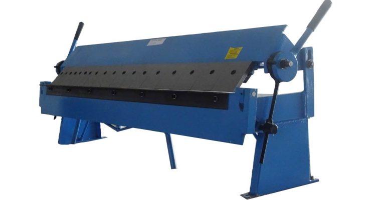 เครื่องพับ มือโยก เครื่องพับโลหะแผ่น เครื่องพับแมนนวล Folding Brake Manual Machine model 6008,1220×1.2mm.